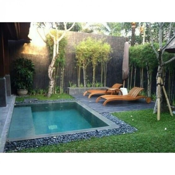 Plunge Pool What It Is Is One Of The Coolest Amenities For Your Back Yard